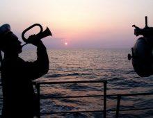 Песни военных лет. Вечер на рейде
