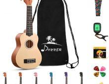 Donner Soprano Ukulele Beginner Kit DUS-10